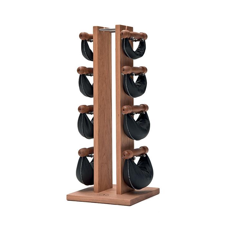 Swing Tower - Tour d'haltères en bois